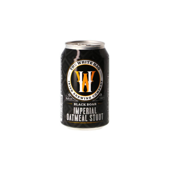 White Hag Black Boar Latt Imperial Oatmeal Stout