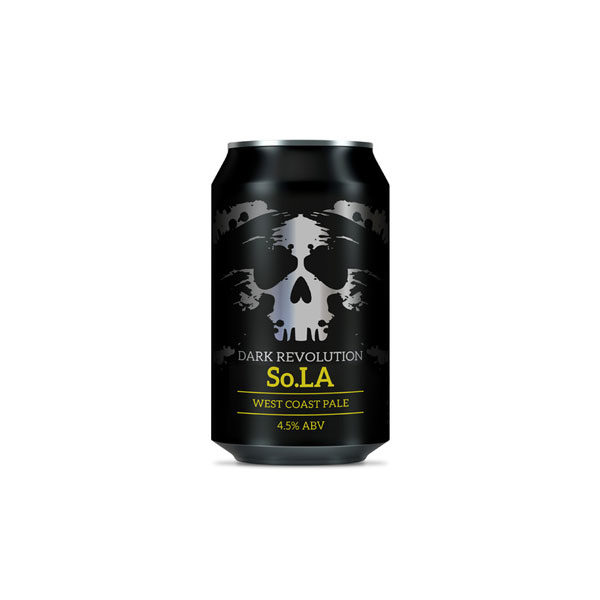 Dark Revolution So La West Coast Pale Ale 33cl