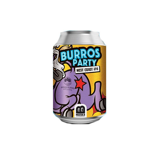 Mister B Burros Party West Coast Ipa